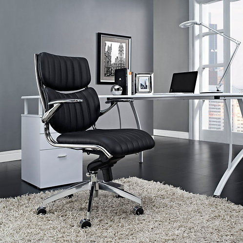 Escape Mid Back Office Chair Black by Modway