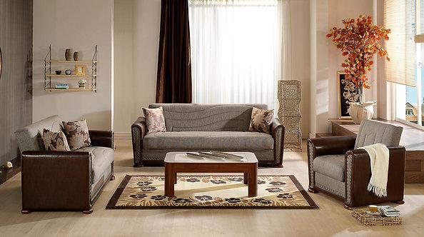 Alfa Redeyef Brown Living Room (ISTIKBAL)