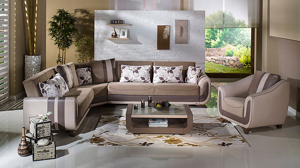 Colombia Sectional Sofa & Chair (ISTIKBAL)