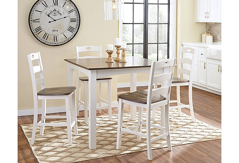 Woodanville 5-Piece Counter Height Dining Set by ashley