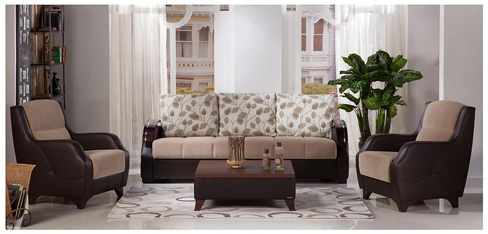 Costa Armoni Vizon Sofa, Loveseat, Chair (ISTIKBAL)