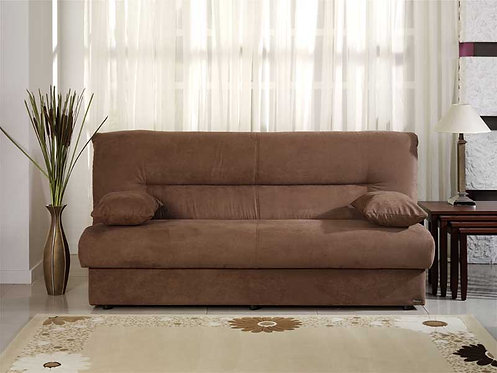 Regata Obsession Truffle Convertible Sofa Bed by Sunset