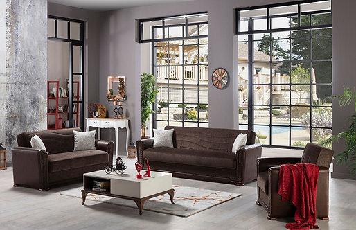 Alfa Jennifer Brown Living Room ( ISTIKBAL )