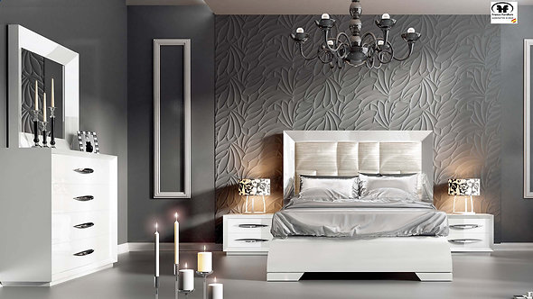 Carmen White Franco Bedroom Set