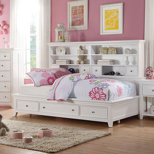 Lacey Daybed (White) by Acme Furniture