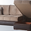 Thumbnail: ULTRA LILYUM VIZON SECTIONAL SOFA