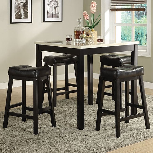 Archstone 5-Piece Counter Height Dinette by Homelegance