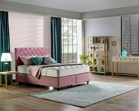 Natuzzi Storage Queen Bed