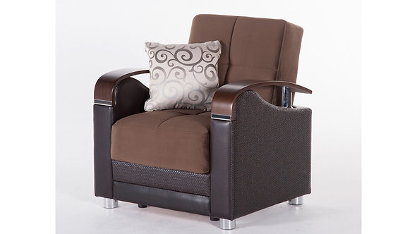 Luna Naomi Brown Chair by Sunset (ISTIKBAL)