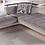 Thumbnail: NATURAL VALENCIA GRAY SECTIONAL SOFA