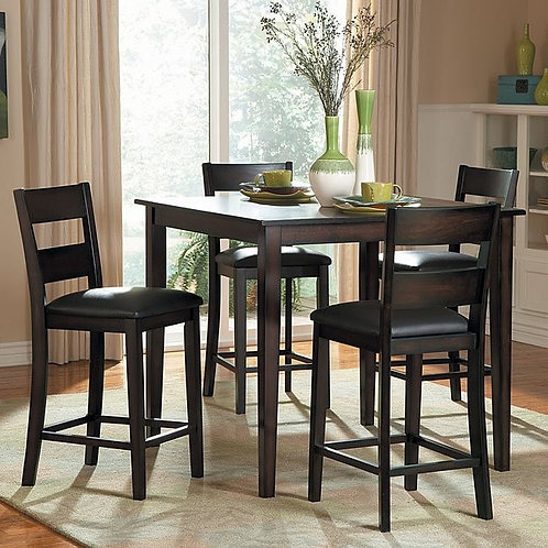 Griffin 5-Piece Counter Height Dinette Set by Homelegance