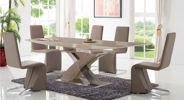 2122 Dining Table w/6609 Chair by ESF