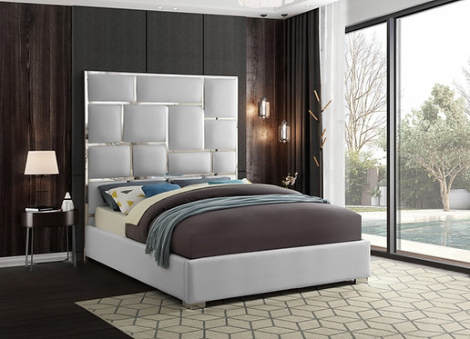 MILAN FAUX LEATHER BED