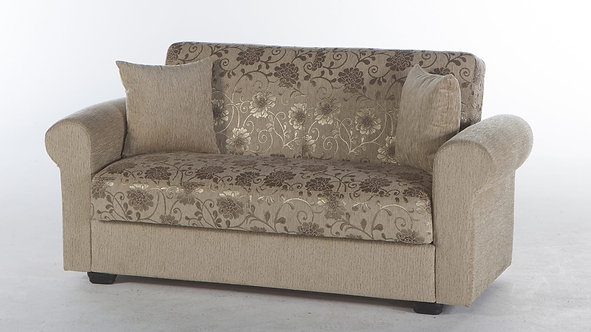 Elita S Yasemin Beige Loveseat