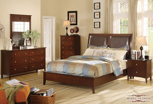 Hudson Bed by Meridian Furniture