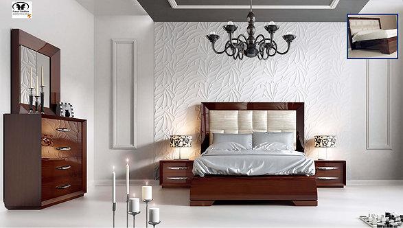 Carmen Walnut Franco Bedroom Set by ESF