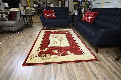 205 Rosa Area Rug Red by Bekmez