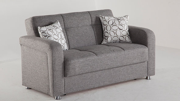 Vision Diego Gray Loveseat by Sunset (ISTIKBAL)