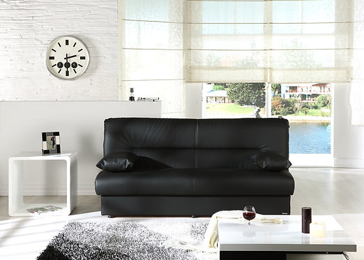 Regata Escudo Black Convertible Sofa Bed by Istikbal Furniture