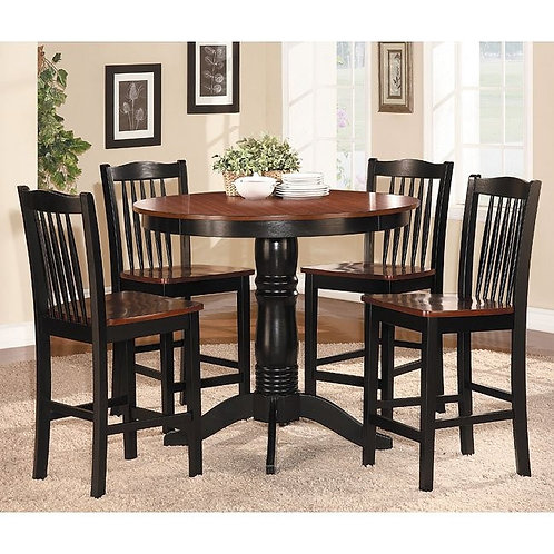 Andover 5-Piece Counter Height Dinette Set by Homelegance