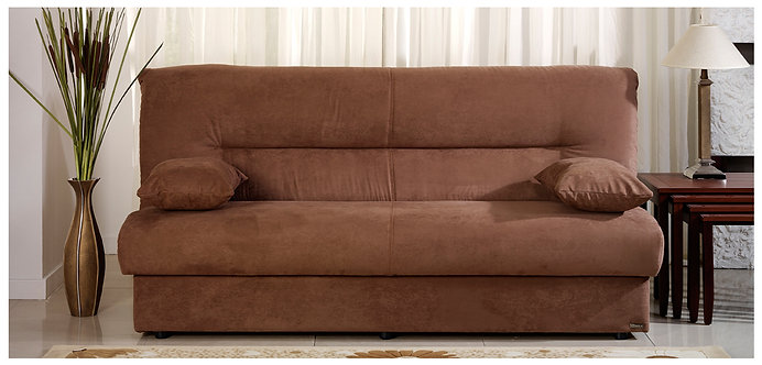 Regata Natural Brown Convertible Sofa Bed by Sunset