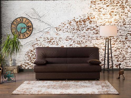 Regata Chocolate Convertible Sofa Bed
