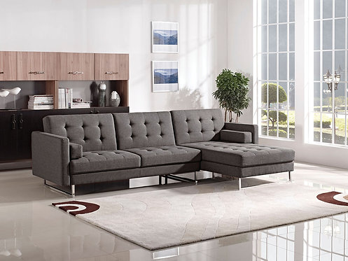 ESF MNG Modern Living 1471 Grey Right Facing Sectional