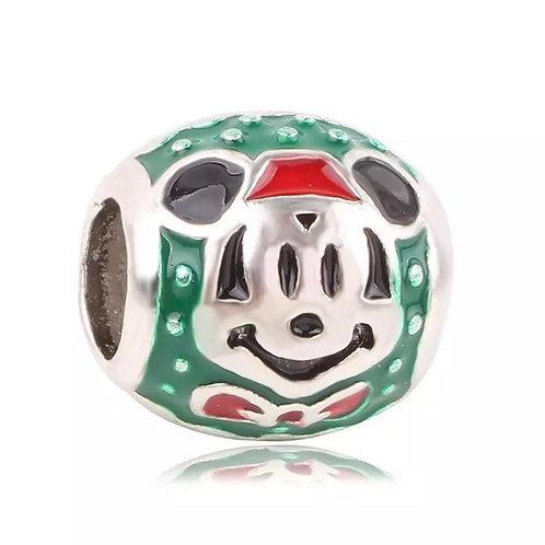 Berloque Mickey Natal - Banhado