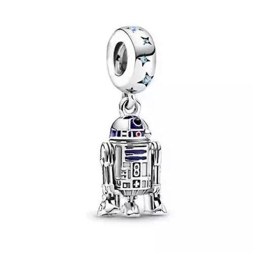 Berloque R2-D2 Star Wars - Banhado