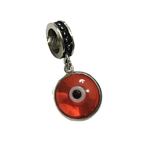 Berloque Olho Grego Vermelho