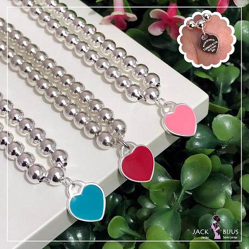 Pulseira Inspired Tiffany - Banhada a Prata