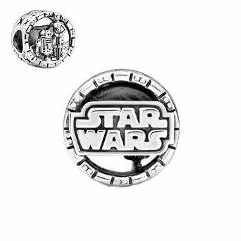 Berloque  C-3po E R2-D2 Star Wars - Banhado