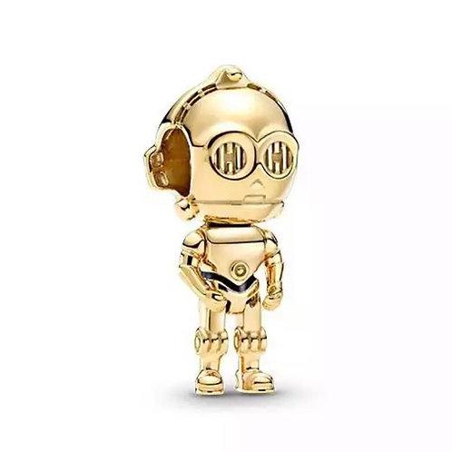 Berloque C-3po Star Wars - Banhado