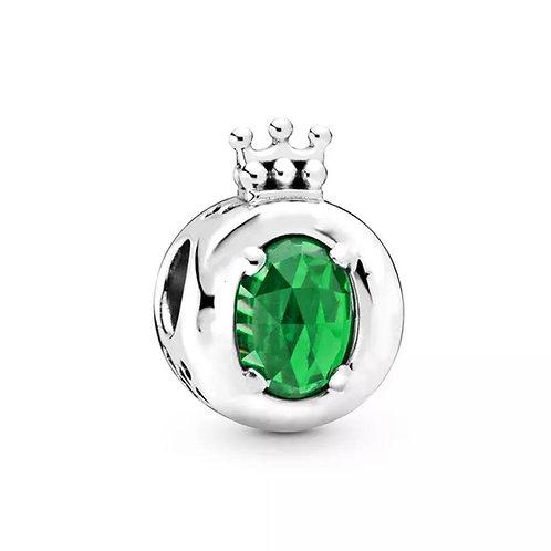 Berloque Coroa Verde