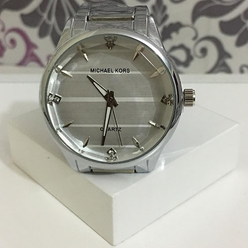 Relógio Inspired MK Prata