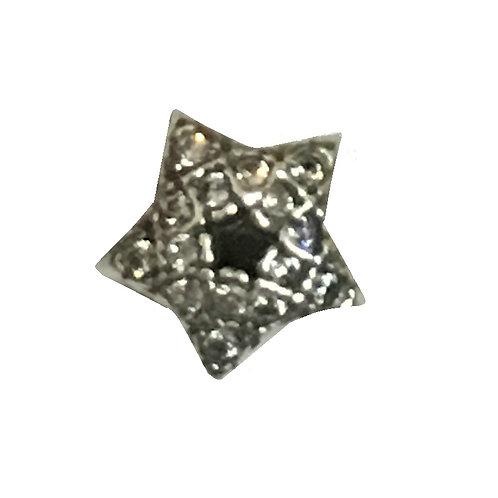 Berloque Separador Estrela Com Zircônias