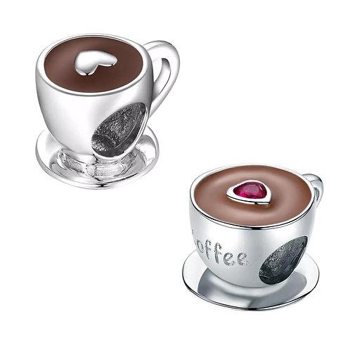 Berloque Xícara de Café - Banhado