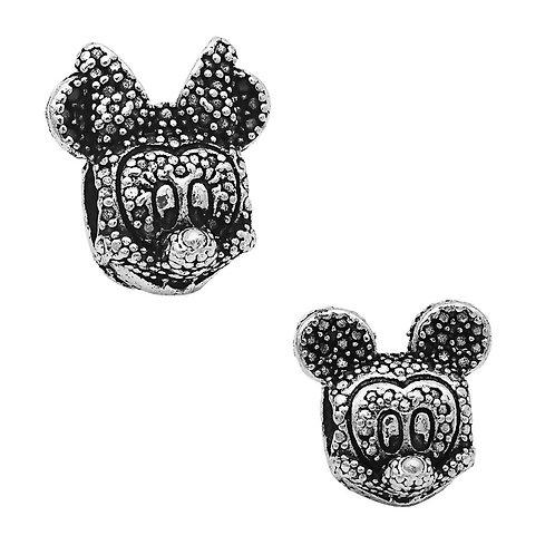 Berloque Cabeça Mickey ou Minnie II - Banhado