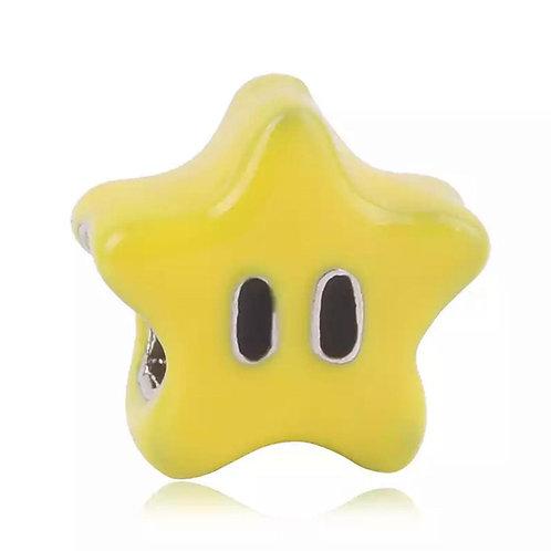 Berloque Estrela Super Mario