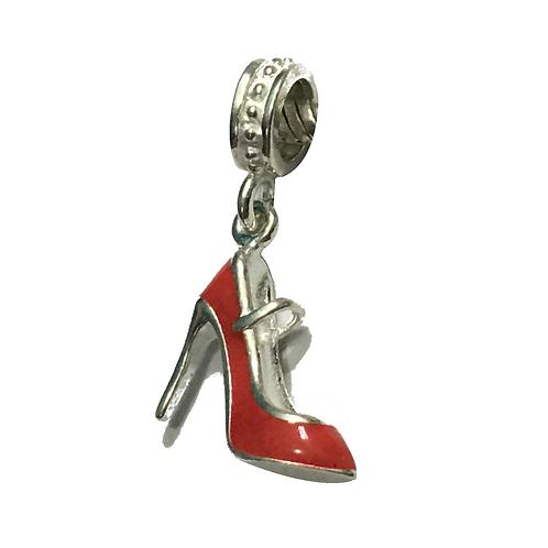 Berloque Sapato Vermelho