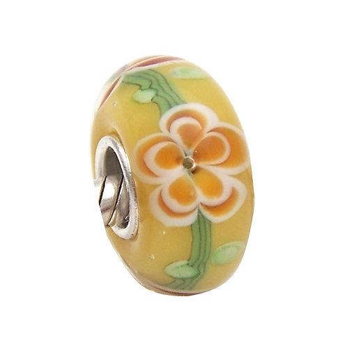 Murano Floral Amarelo