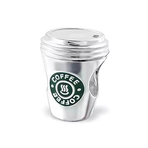 Berloque Copo Café - Prata 925