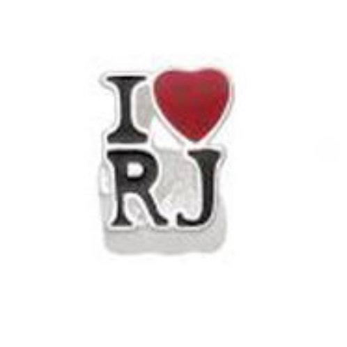 Berloque Love RJ Esmaltado