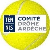 Logo Comite drome ardeche de tennis