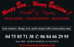 BOUCHERIE BUISSON 47x30cm