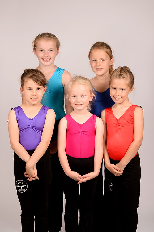 Coloured Leotard for Juniors