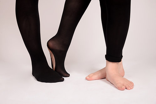 Convertible Dance Tights for Mid 2s and Seniors