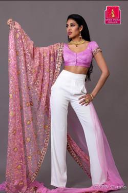 Miss India France 2016 model