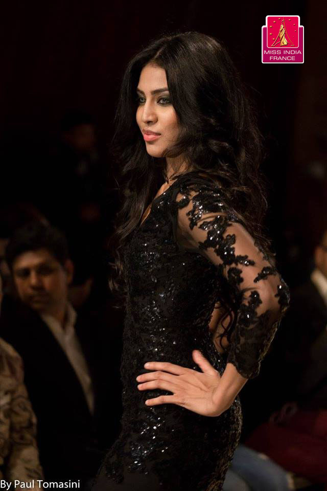 Miss India France 2016 lors defile de mode