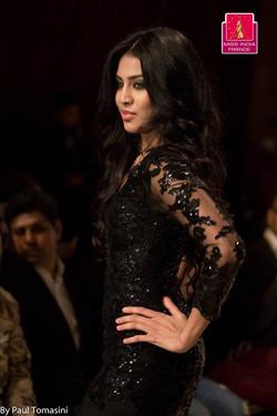 Miss India France 2016 lors defile de mode
